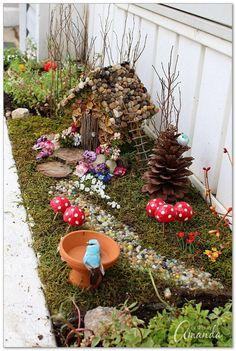 50 Magical And Best Plants DIY Fairy Garden Ideas 16 #miniaturefairygardens