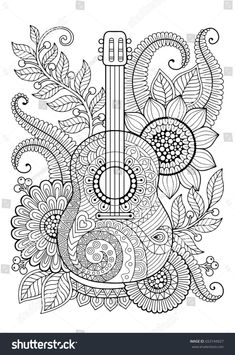 Coloring Page Adult Antistress Relax Meditation Zentangle Coloring Pages Free Adult Coloring Pages, Mandala Coloring Pages, Printable Coloring Pages, Colouring Pages, Coloring Sheets, Coloring Books, Coloring Pages For Adults, Beach Coloring Pages, Kids Coloring