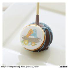 Baby Shower | Nesting Birds Cake Pops