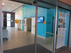 One of the lobbies @ IESEG School of Management, Paris Campus