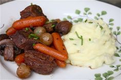 Boeuf Bourguignon- incredibly delicious and fancy but so so easy.  Make again!