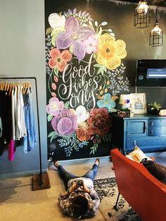 23 Ideas wall art diy paint chalk board for 2019 Chalkboard Wall Art, Chalk Wall, Chalk Board Wall Ideas, Chalkboard Ideas, Wall Murals Bedroom, Mural Art, Diy Wall Art, Wall Decor, Creative Decor