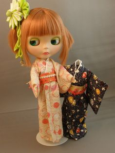 Pattern for Kimono for Blythe by KristineAnns on Etsy, $6.00