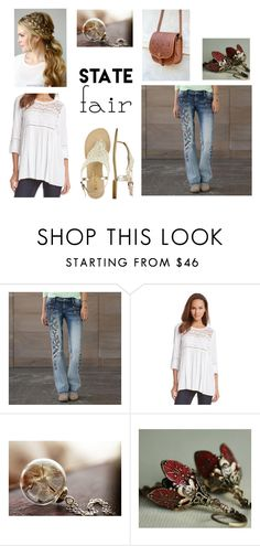 """""""Going to the State Fair"""" by sktblue on Polyvore featuring Karen Kane, Kate Spade, statefair and summerdate"""