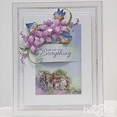 The Light of My Life - created w/ the Lush Lilac Collection from #HeartfeltCreations #papercraft #craft #card #cardmaking #anyoccasion #justbecause