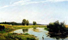 The Athenaeum - Landscape with a lake (Ivan Ivanovich Shishkin - )