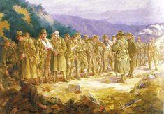 """""""Pasando lista"""" Gallípoli 10 Mayo 1915 by Ellis L. Silas"""