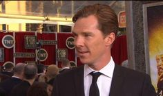 Twitter / WeinsteinFilms: #AugustOsageCounty's Benedict  Cumberbatch on the #SAGAwards #RedCarpet!