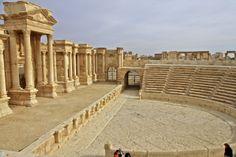 Palmira. Teatro romano de Palmira