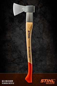 Stihl Forestry Axe. Product photo by JMVDIGITAL. #studio #advertising