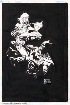 Batman and The Joker by Eduardo Risso