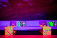 See 719 photos from Anthony Taccetta Event Design located in New York, New York. Led Fluorescent, Tape Art, Custom Decals, Neon Lighting, Bat Mitzvah, Event Design, Nyc, Amazing, Floral