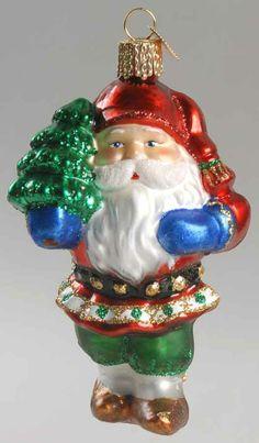 Merck Family's OLD WORLD CHRISTMAS ORNAMENT Tomte Swedish Elf 8859821