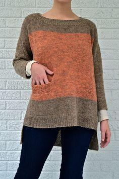 Как вязать пуловер спицами