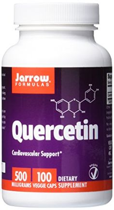 #Quercetin is a flavonol (a subclass of flavonoids) and is a potent antioxidant; providing cardiovascular protection by reducing oxidation of LDL cholesterol.* Q...