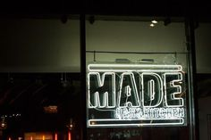 Them like / MADE BAR&KITCHEN — Roundhouse This project for the Roundhouse included designing fresh, new menus for their restaurant, MADE. The rebrand