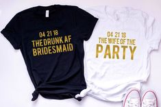 Funny Bachelorette Party Customized Tees or Tanks / bridal party shirts / bridesmaid tees