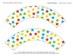 cupcakewrappers-stars-sesamestreet Cake Pops, Sesame Street Muppets, Cupcakes, Cupcake Wrappers, Make Your Mark, Party Shop, Craft Party, Elmo, Party Printables