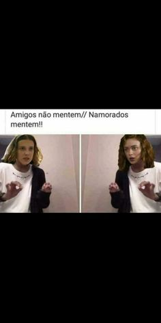 Pin by Maria Eduarda on Memes Stranger Things Netflix, Eleven Stranger Things, Saints Memes, Famous Books, Top Memes, I Love You All, Best Series, Country Singers, Series Movies