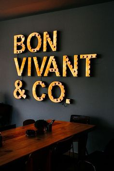 Bon Vivant & Co. | Madrid....