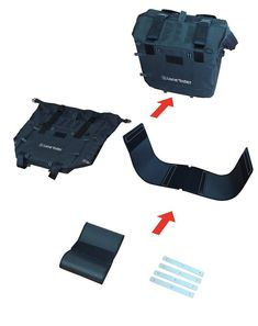39a5907dd7 MOTOBAGS - SEMI-RIGID MOTORCYCLE BAGS The MotoBags can be compressed when  not in use