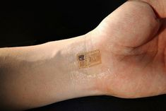 Image result for electronic tattoo RFID flat chip