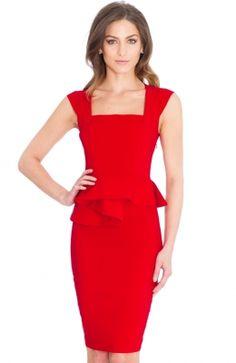 DR584_front Peplum Dress, Dresses, Fashion, Gowns, Moda, La Mode, Peplum Dresses, Dress, Fasion