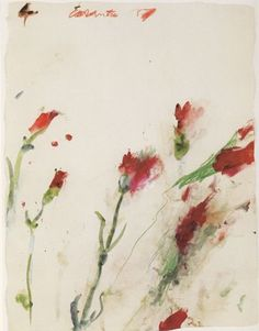 Cy Twombly - four seasons