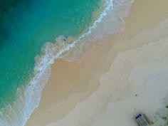 Beloam Beach from bird eye view