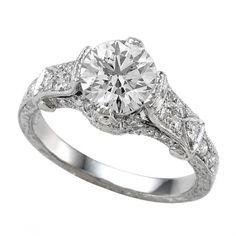 Wedding rings- Regal Edwardian Style