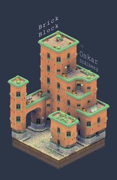 Unity 3D - Procedural building