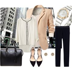 """""""Polished work outfit"""" by madgab on Polyvore"""