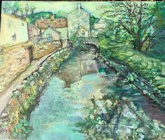 Acrylic and matte acrylic medium on birchwood panel. Copyright SKCole all rights reserved. Derbyshire, Original Art, England, Marketing, The Originals, Medium, Artwork, Artist, Painting