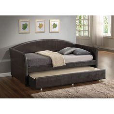 Glory Furniture Daybed with Trundle & Reviews | Wayfair.ca