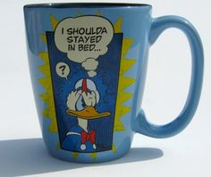 $43.00 Disney Donald Duck Coffee Mug  From Disney   Get it here: http://astore.amazon.com/ffiilliipp-20/detail/B008RCNEII/180-2885733-0658420