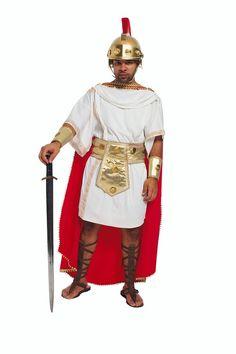 Como fazer um traje de soldado romano para uma peça na escola