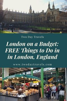 FREE Things to Do on your next vacation to London England! If you're traveling to London on a budget London In 2 Days, Things To Do In London, Free Things To Do, Ways To Travel, Travel Tips, Travel Abroad, Travel Europe, Travel Essentials, Budget Travel