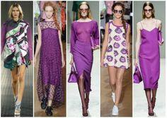 Color orquidea radiante (radiant orchid). El color fashion de moda elegido por los diseñadores para la temporada primavera verano 2014.