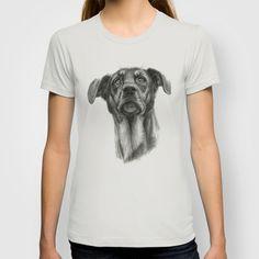 sh-Dog G2009sh-f T-shirt by S-Schukina - $18.00