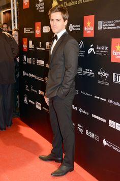 El actor Marc Clotet en la alfombra roja de la V edición de los Premios Gaudí.