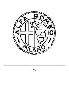 Marchio Alfa Romeo del 1950