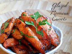 Simple glazed carrots with hints of cinnamon, cayenne, and cumin ...