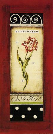 Tulipán belga I Lámina