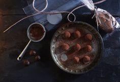 Chocolate truffles from Nourish by Jane Clarke