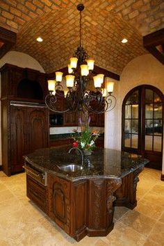 Rustic kitchen design ideas and decor  .. An Italian Estate mediterranean kitchen
