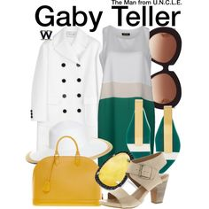 Inspired by Alicia Vikander as Gaby Teller in 2015's The Man from U.N.C.L.E.