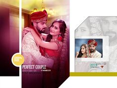 Wedding What To Register For Wedding Photo Books, Wedding Photo Albums, Wedding Book, Wedding Album Cover, Wedding Album Layout, Indian Wedding Album Design, Indian Wedding Photos, Album Cover Design, Couples