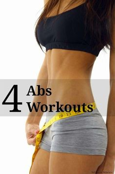 4 Abs Workouts for Women | Cute Health