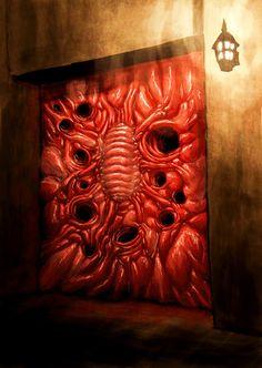 Fantasy Kunst, Dark Fantasy Art, Dark Art, Arte Horror, Horror Art, Medusa Art, Eldritch Horror, Surrealism Painting, Alien Art