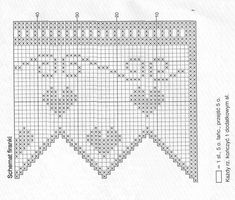 cortina crochet-patron-esquema-otakulandia.es (30) Diagram, Wallpaper, Grades, Internet, Windows, Curtains For Kitchen, Tejidos, Christmas Ornaments, Crocheting